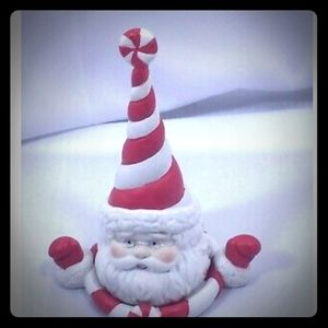 Partylite Sweets and Treats Santa Snuffer w/Base